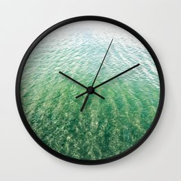Quiescent Shore Wall Clock