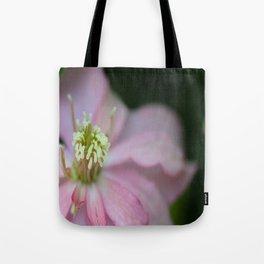 New Zealand Beauty Flower II (Macro of Clematis Montana) Tote Bag