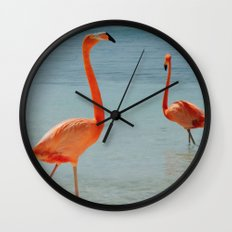 Walking Tall & Proud Wall Clock