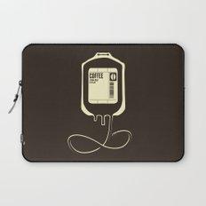 Coffee Transfusion Laptop Sleeve