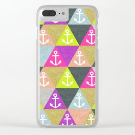 Ahoy! Clear iPhone Case