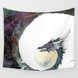 Cosmos Dragon Wall Tapestry