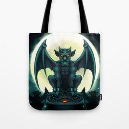 Gargoyle Digital Painting Illustration Tote Bag