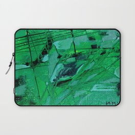 trama verde Laptop Sleeve