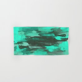 Chill Factor - Abstract in blue Hand & Bath Towel