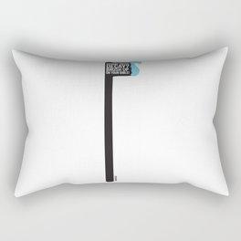 Truth Decay  Rectangular Pillow