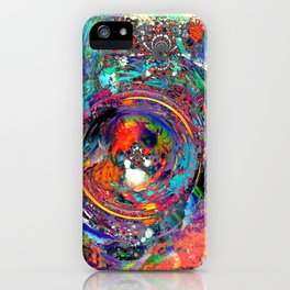 Torn at the Seams iPhone Case
