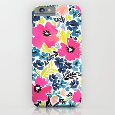 Watercolor Floral Slim Case iPhone 6