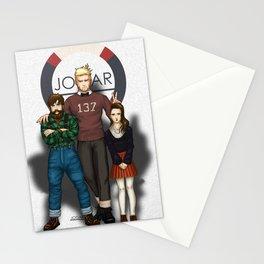 Hanz, Abel and Madeleine Stationery Cards