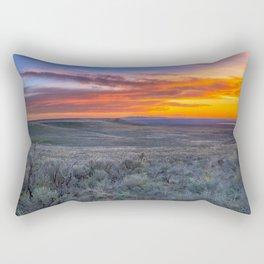 Color of the Desert Rectangular Pillow