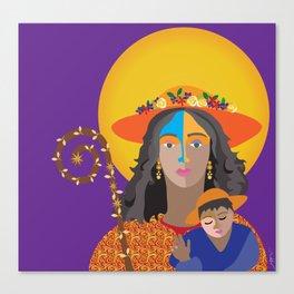 Divina Pastora .Venezuela Canvas Print