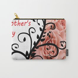 Womens Day. Vector template with for card, poster, flyer and other users Carry-All Pouch