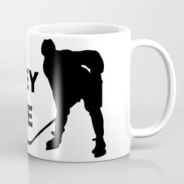 Hockey Is Life Coffee Mug
