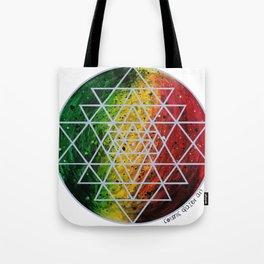 Rasta Planet with Sri Yantra Tote Bag