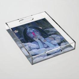 In Threes Acrylic Tray