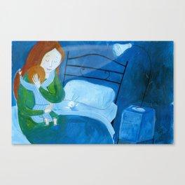 the hug Canvas Print