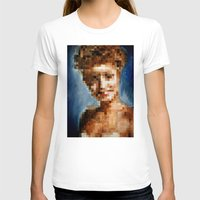 laura palmer T-shirts featuring Who Pixelated Laura Palmer :; Twin Peaks by Kristin Frenzel