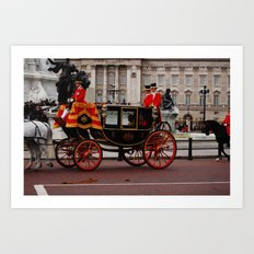 The Royal Carriage 2 Art Print
