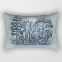 Midnight in the Stone Garden (colour option) Rectangular Pillow