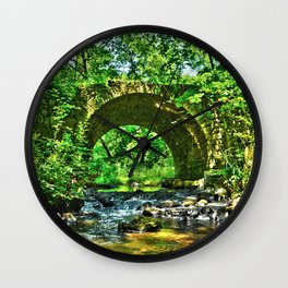 Historic Point Douglass-St. Louis River Road Bridge Wall Clock