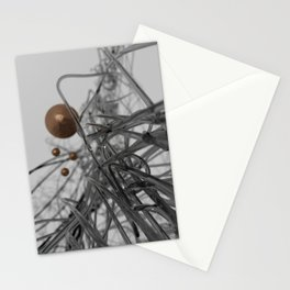 nano-black Stationery Cards