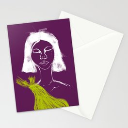 Organza Tears Stationery Cards