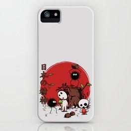 Kodamas & Susuwataris iPhone Case