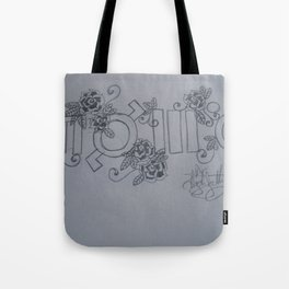 Echelon. Yes This Is A Cult. Tote Bag