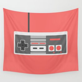 #48 NES Controller Wall Tapestry