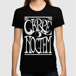 Carpe Noctem - black T-shirt