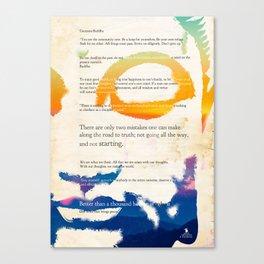 GUATAMA BUDDHA Canvas Print