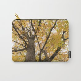 A Tree with Fall Leaves Carry-All Pouch