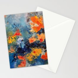 Orange Fish Stationery Cards