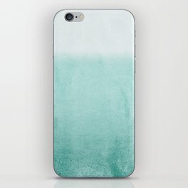 FADING AQUA iPhone Skin