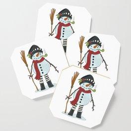 Illustration of Snowman Coaster