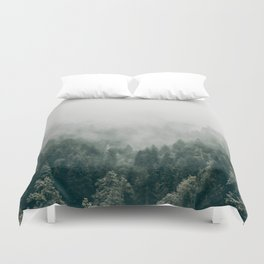 Foggy Forest 3 Duvet Cover
