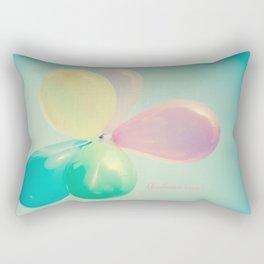 Balloon Love  Rectangular Pillow
