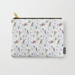 I wanted flowers but you gave me triangles Carry-All Pouch