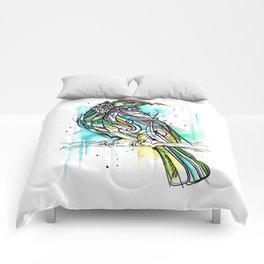 Turquoise Tui Comforters