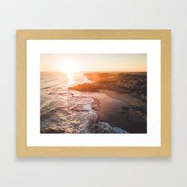 Serene Sunset Framed Art Print