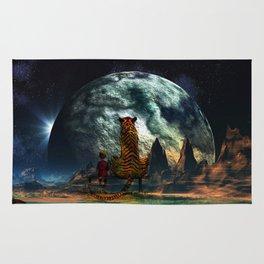 Calvin and Hobbes-Nebula Rug