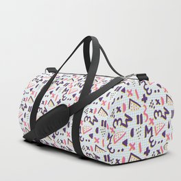 Horrible Patterns ~ Squared 80s Duffle Bag
