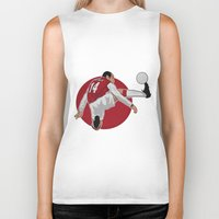 arsenal Biker Tanks featuring Thierry Henry by siddick49