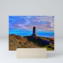 San Juan Monument on Lopez Island Mini Art Print