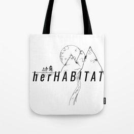 herHABITAT Logo Tote Bag