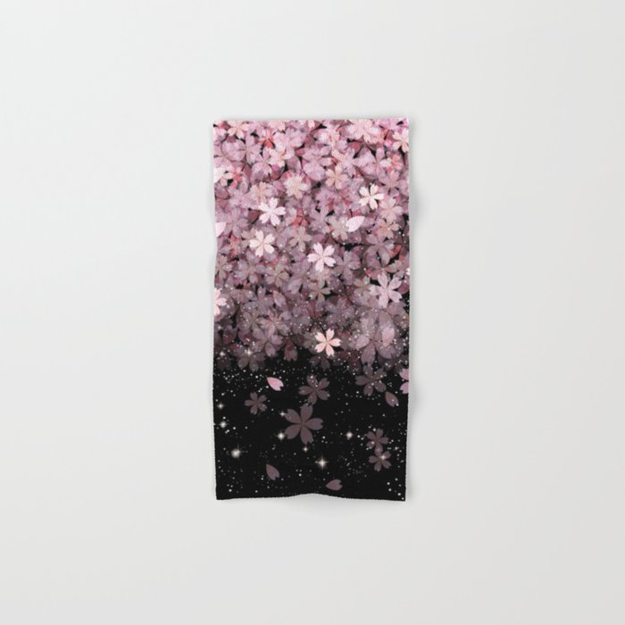 Cherry blossom #11 Hand & Bath Towel