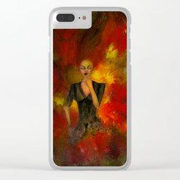 Die aus dem Feuer Clear iPhone Case