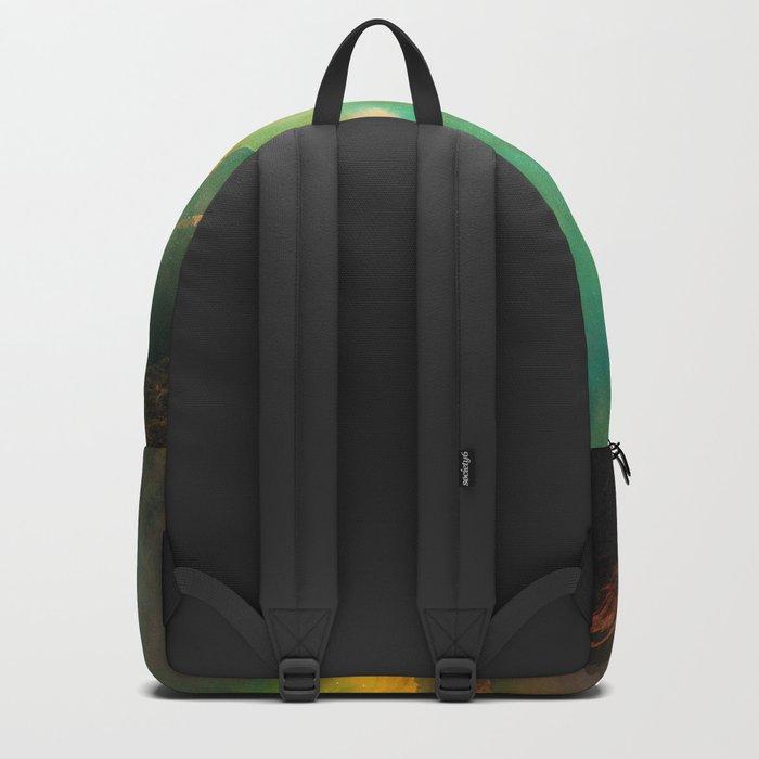 Vibrant Space Hiker Backpack