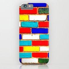 Vibrant Brick Slim Case iPhone 6s