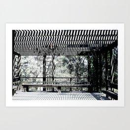 Slanted Light Art Print